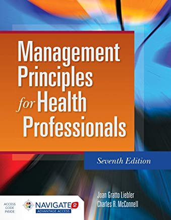 Management Principles for Health Professionals Cover