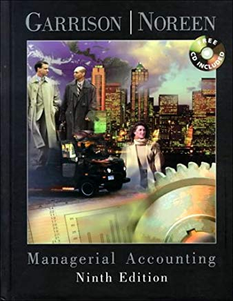 Managerial Accounting Cover