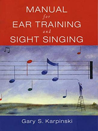 Manual For Ear Training And Sight Singing Cover