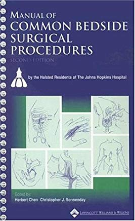 Manual of Common Bedside Surgical Procedures Cover