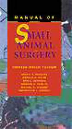 Manual of Small Animal Surgery Cover