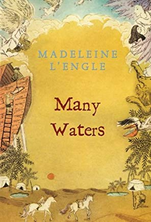 Many Waters (A Wrinkle in Time Quintet) Cover