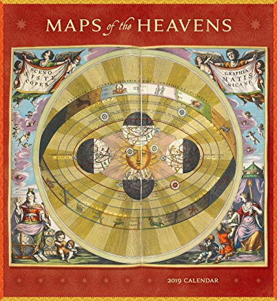 Maps of the Heavens 2019 Wall Calendar Cover