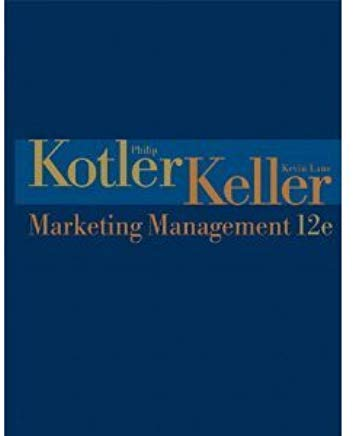 Marketing Management Cover