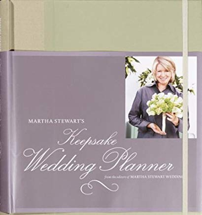 Martha Stewart's Keepsake Wedding Planner Cover