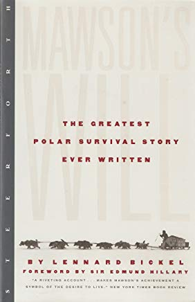 Mawson's Will: The Greatest Polar Survival Story Ever Written Cover
