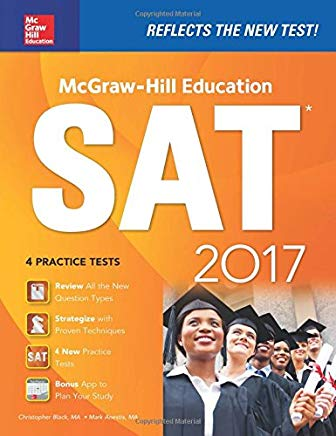 McGraw-Hill Education SAT 2017 Edition (McGraw Hill's SAT) Cover