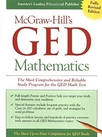 McGraw-Hill's GED Mathematics: The Most Comprehensive and Reliable Study Program for the GED Math Test by Jerry Howett (Sep 11 2002) Cover