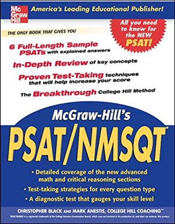 McGraw-Hill's PSAT/NMSQT (Mcgraw-Hill Education PSAT/NMSQT) Cover