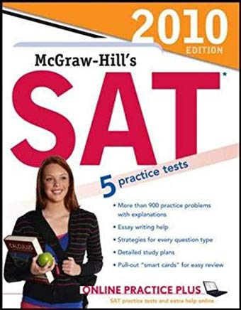 McGraw-Hill's SAT, 2010 Edition Cover