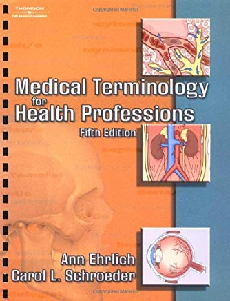 Medical Terminology for Health Professions Cover