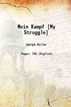 Mein Kampf [My Struggle] [Hardcover] Cover