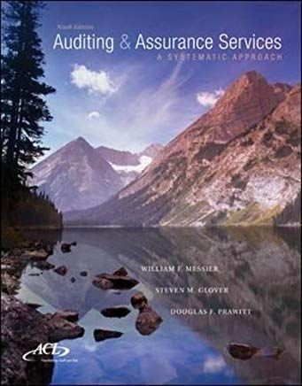 MP Auditing & Assurance Services w/ ACL Software CD-ROM: A Systematic Approach Cover