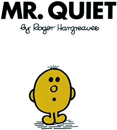 Mr. Quiet (Mr. Men and Little Miss) Cover
