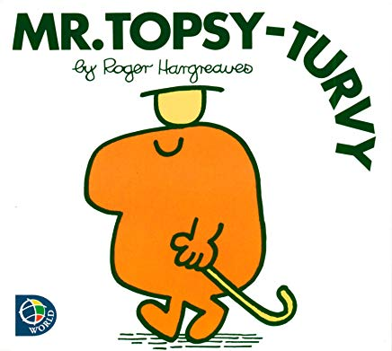 Mr. Topsy-turvy (Mr. Men and Little Miss) Cover