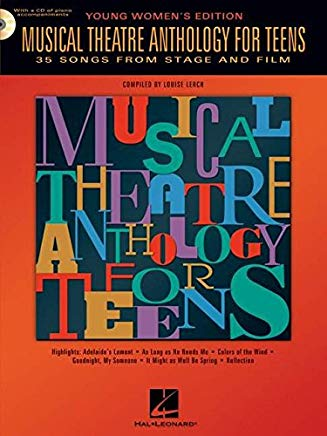Musical Theatre Anthology for Teens Young Women's Edition Softcover Audio Online Cover