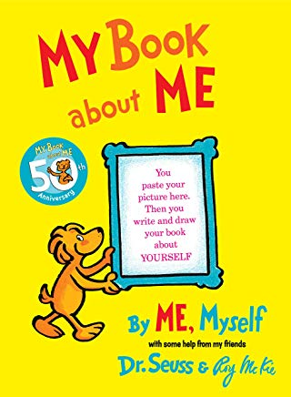 My Book About Me Cover
