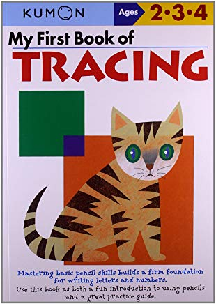 My First Book Of Tracing (Kumon Workbooks) Cover