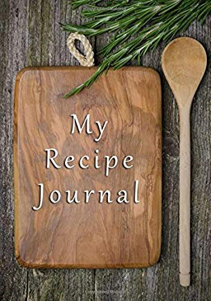 My Recipe Journal: Blank Cookbooks To Write In V12 Cover