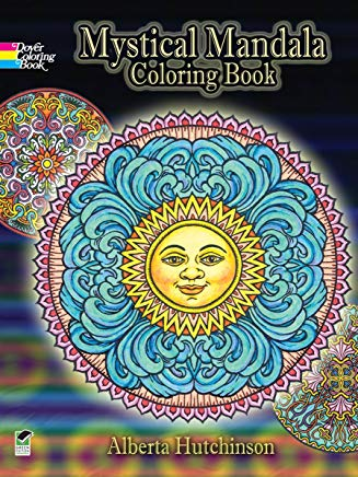 Mystical Mandala Coloring Book (Dover Design Coloring Books) Cover