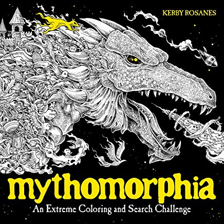 Mythomorphia: An Extreme Coloring and Search Challenge Cover