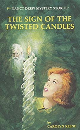 Nancy Drew 09: The Sign of the Twisted Candles Cover