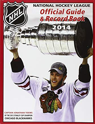 National Hockey League Official Guide & Record Book 2014 (National Hockey League Official Guide an) Cover