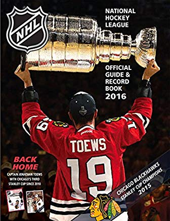 National Hockey League Official Guide & Record Book 2016 (National Hockey League Official Guide an) Cover