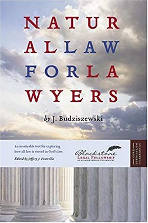 Natural Law For Lawyers Cover
