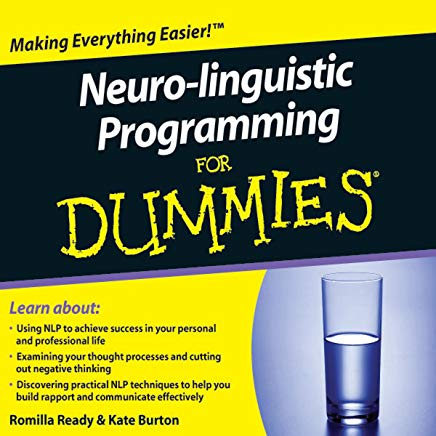 Neuro-Linguistic Programming For Dummies Audiobook Cover