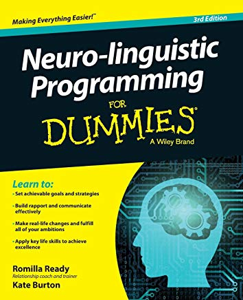 Neuro-linguistic Programming For Dummies (For Dummies (Psychology & Self Help)) Cover