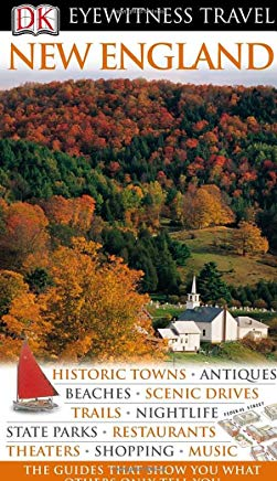 New England (Eyewitness Travel Guides) Cover