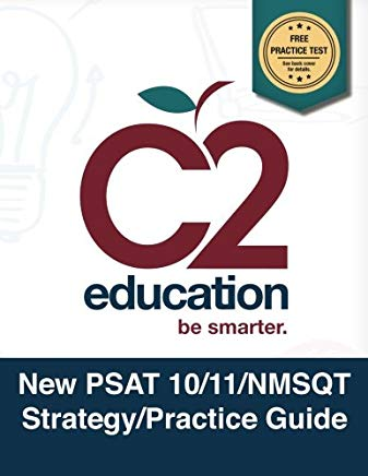 New PSAT 10/11/NMSQT Strategy/Practice Guide Cover