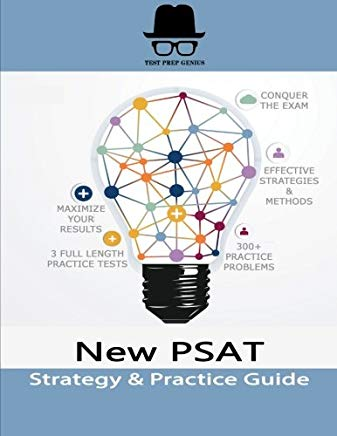 New PSAT Strategy & Practice Guide Cover