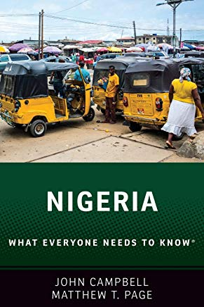 Nigeria: What Everyone Needs to Know® Cover