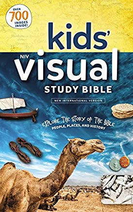 NIV, Kids' Visual Study Bible, Hardcover, Full Color Interior: Explore the Story of the Bible---People, Places, and History Cover