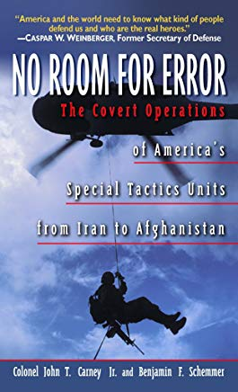 No Room for Error: The Story Behind the USAF Special Tactics Unit Cover