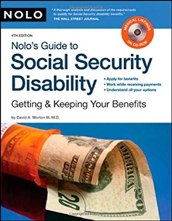 Nolo's Guide to Social Security Disability: Getting & Keeping Your Benefits (including CD) Cover