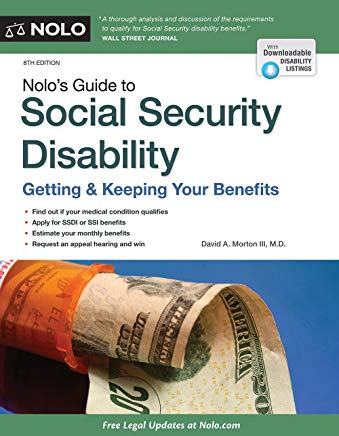 Nolo's Guide to Social Security Disability: Getting & Keeping Your Benefits Cover