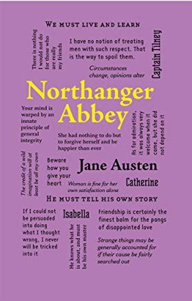Northanger Abbey (Word Cloud Classics) Cover
