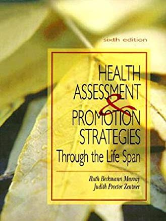 Nursing Assessment And Health Promotion Strategies Through The Life Span Cover