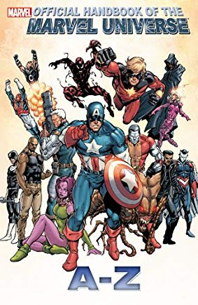 Official Handbook of the Marvel Universe A to Z Volume 2 (Official Handbook to the Marvel Universe a to Z) Cover