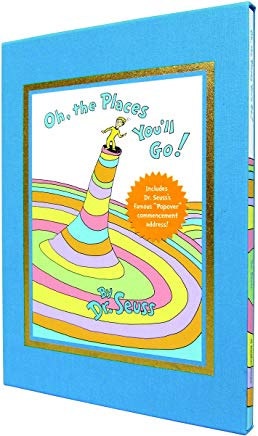Oh, the Places You'll Go! Deluxe Edition (Classic Seuss) Cover