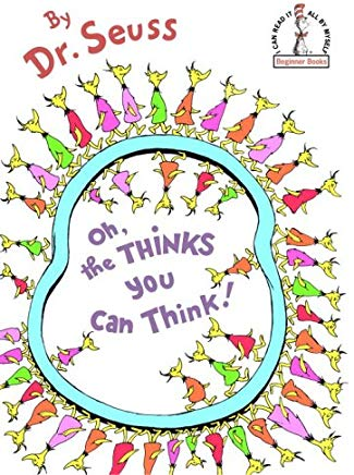 Oh, the Thinks You Can Think! (Beginner Books(R)) Cover