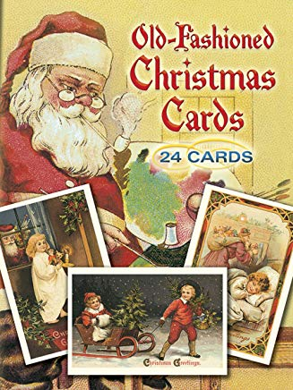 Old-Fashioned Christmas Postcards: 24 Postcards Cover