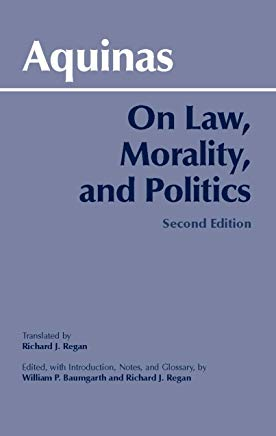 On Law, Morality and Politics, 2nd Edition (Hackett Classics) Cover
