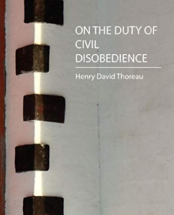 On the Duty of Civil Disobedience - Thoreau Cover