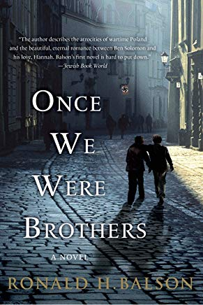 Once We Were Brothers: A Novel (Liam Taggart and Catherine Lockhart) Cover