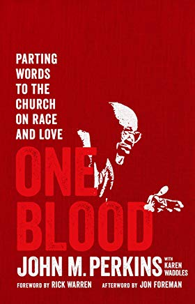 One Blood: Parting Words to the Church on Race and Love Cover