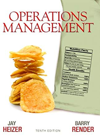 Operations Management (10th Edition) Cover